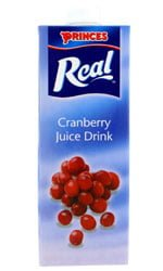 Princes - Cranberry Juice 1 Litre Carton