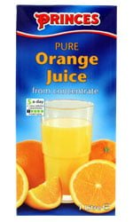 Princes - Orange Juice 1 Litre Carton