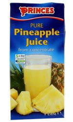 Princes - Pineapple Juice 1 Litre Carton