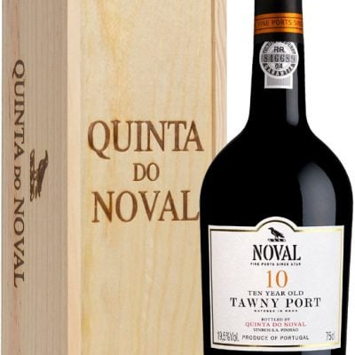 Quinta do Noval - 10 Year Old Tawny Wood Gift Pack 75cl Bottle