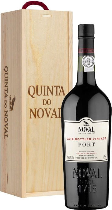 Quinta do Noval - LBV Unfiltered 2008 Wood Gift Pack 6x 75cl Bottles