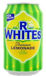 R Whites - Lemonade 24x 330ml Cans