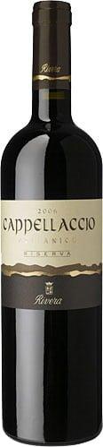 Rivera - Cappellaccio Aglianico Riserva Castel Del Monte 2007-08 75cl Bottle