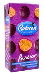 Rubicon - Passion Fruit Juice Drink 1 Litre Carton