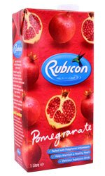 Rubicon - Pomegranate Juice Drink 1 Litre Carton