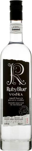 RubyBlue - Small Batch Irish Vodka 70cl Bottle