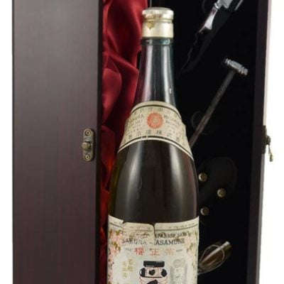 Saukura Masamune brewed by Yamamura Sake Brewing Co. (1960's)