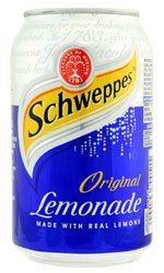 Schweppes - Lemonade 24x 330ml Cans
