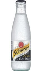 Schweppes - Soda Water 24x 200ml Bottles