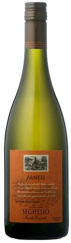 Seghesio - Russian River Valley Arneis 2011 12x 75cl Bottles