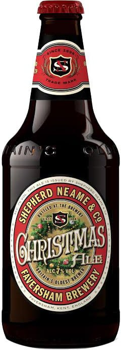 Shepherd Neame - Christmas Ale 8x 500ml Bottles