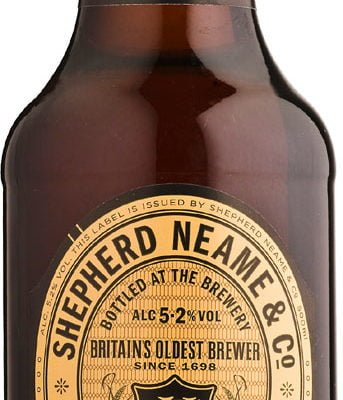Shepherd Neame - Double Stout 8x 500ml Bottles