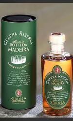 Sibona - Grappa Reserve Madeira Wood Finish 50cl Bottle