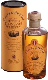 Sibona - Grappa Reserve Tennessee Whiskey Wood Finish 50cl Bottle