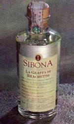 Sibona - Grappa di Brachetto 50cl Bottle