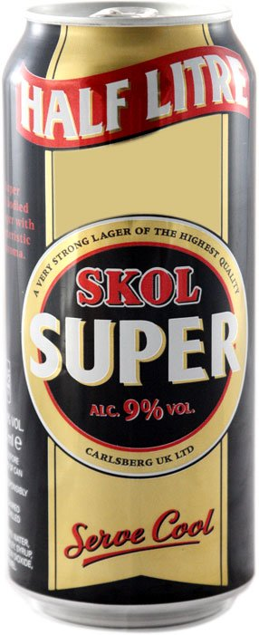 Skol - Super 24x 500ml Cans