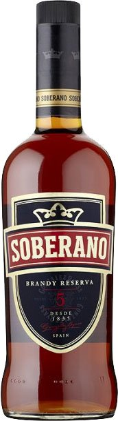 Soberano 5 - Solera Reserva 70cl Bottle