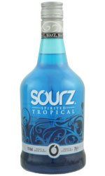 Sourz - Tropical Blue 70cl Bottle