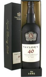 Taylors - 40 Year Old Tawny 75cl Bottle