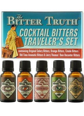 The Bitter Truth - Traveller's Set 5x 20ml Bottles