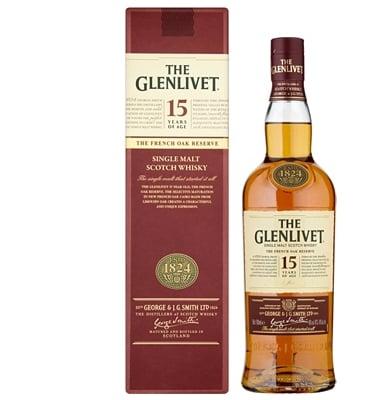 The Glenlivet 15-year-old Speyside Single Malt Whisky