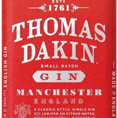 Thomas Dakin - Small Batch Manchester Gin 70cl Bottle