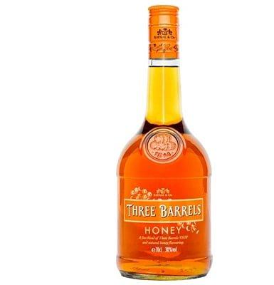 Three Barrels Honey Vsop