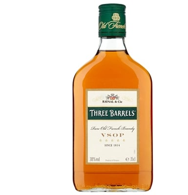 Three Barrels Vsop Brandy