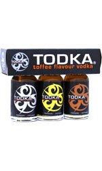 Todka - Miniatures 3x 28ml Bottles