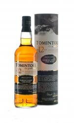 Tomintoul - 12 Year Old Oloroso Sherry Cask Finish 70cl Bottle
