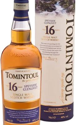 Tomintoul - 16 Year Old 70cl Bottle
