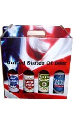 United States Of Beer - 4 Bottles 4 Bottle Gift Pack