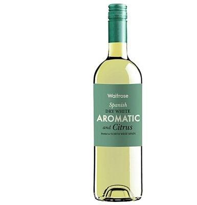 Waitrose Aromatic And Citrus Spanish Dry White Nv