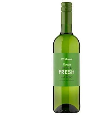 Waitrose Fresh & Zesty French White