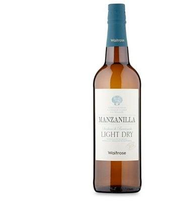 Waitrose Manzanilla Fina Sherry