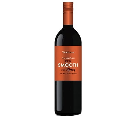 Waitrose Smooth And Spicy Australian Red