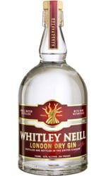 Whitley Neill - London Dry Gin 70cl Bottle