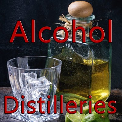 Alcohol and Distilleries