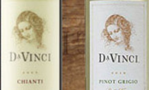 Wine from Da Vinci