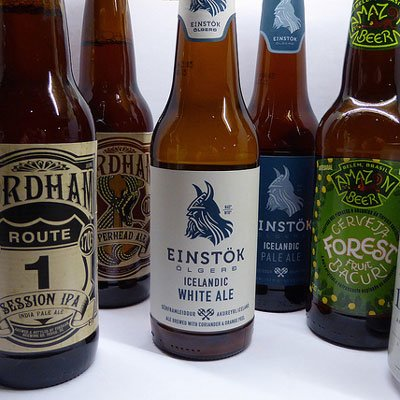 Beers from Iceland