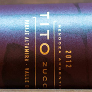 Tito Zuccardi - Red wine from Mendoza, Argentina