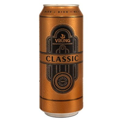 viking classic can - Iceland beer