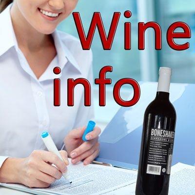 Wine Informations